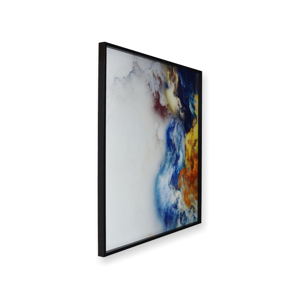Quadro Decor Abstrato Nuvens em Cores