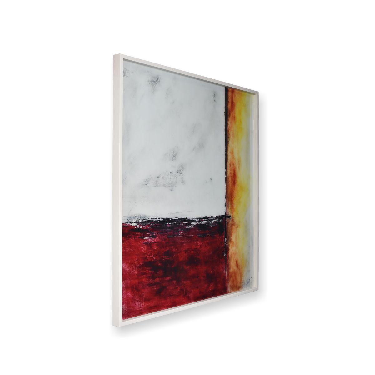 Quadro Decor Abstrato em 3 Tons