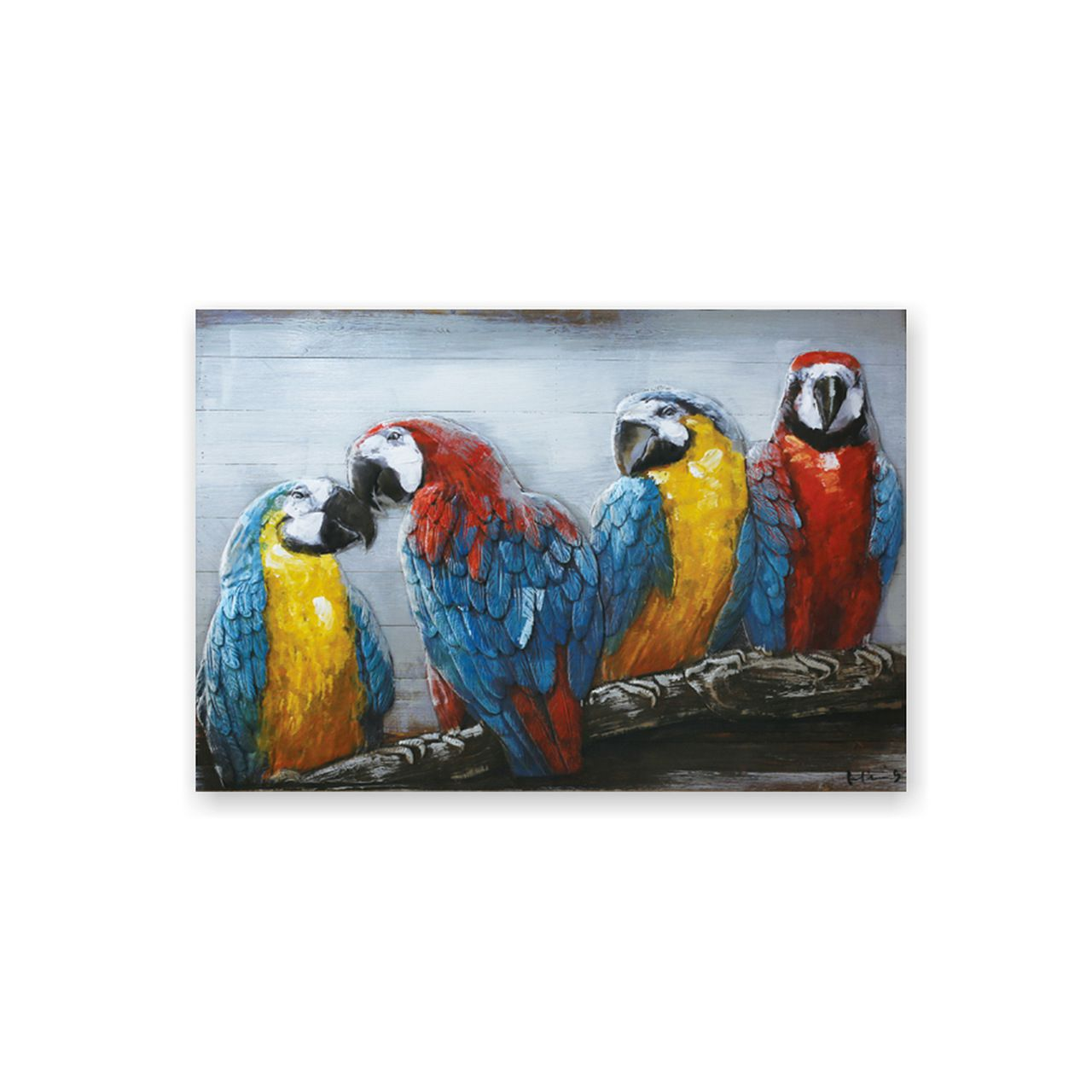 Quadro Decor Art 4 Araras 3D