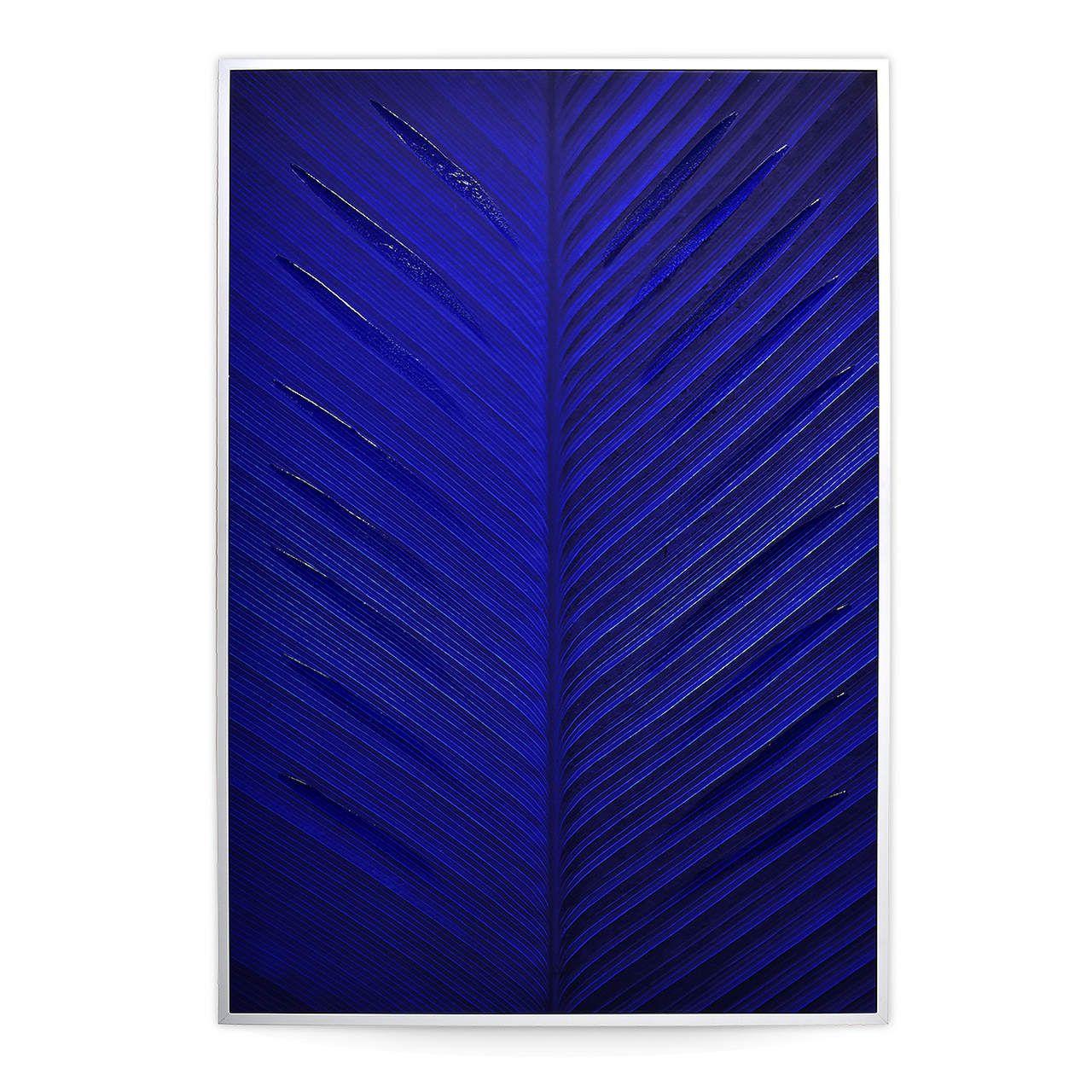 Quadro Decor Abstrato Marés Azuis