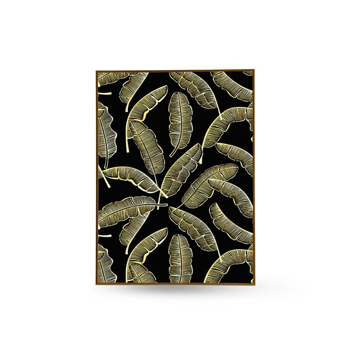 Quadro Decor Kit Coleção As Folhas e o Abacaxi