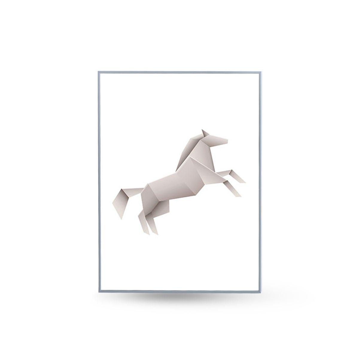 Quadro Decor Kit Coleção Animais Origami