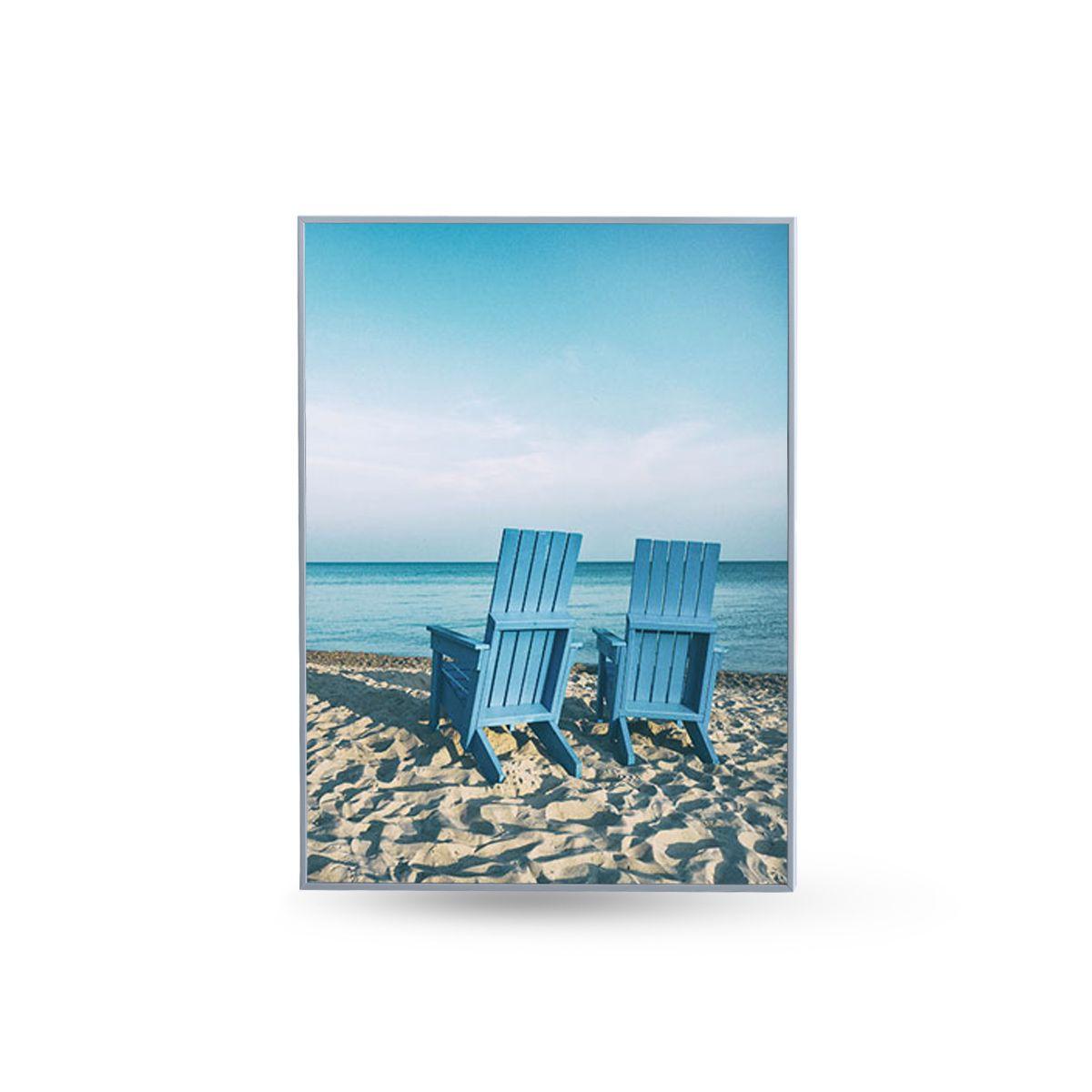 Quadro Decor Kit Coleção Mar Azul