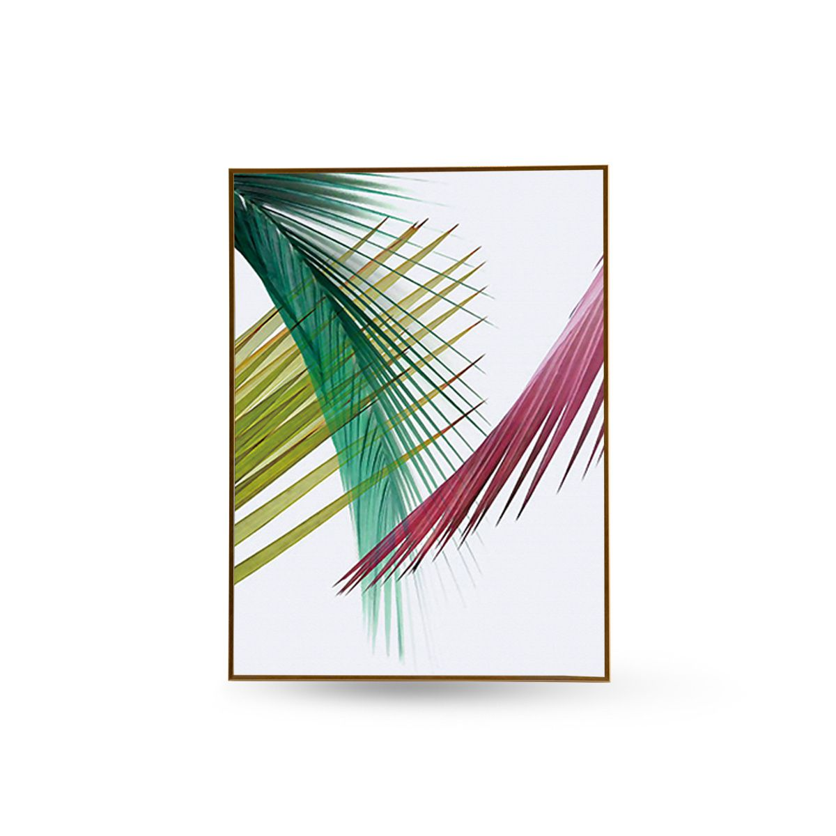 Quadro Decor Kit Coleção Folha Palmeira Cores