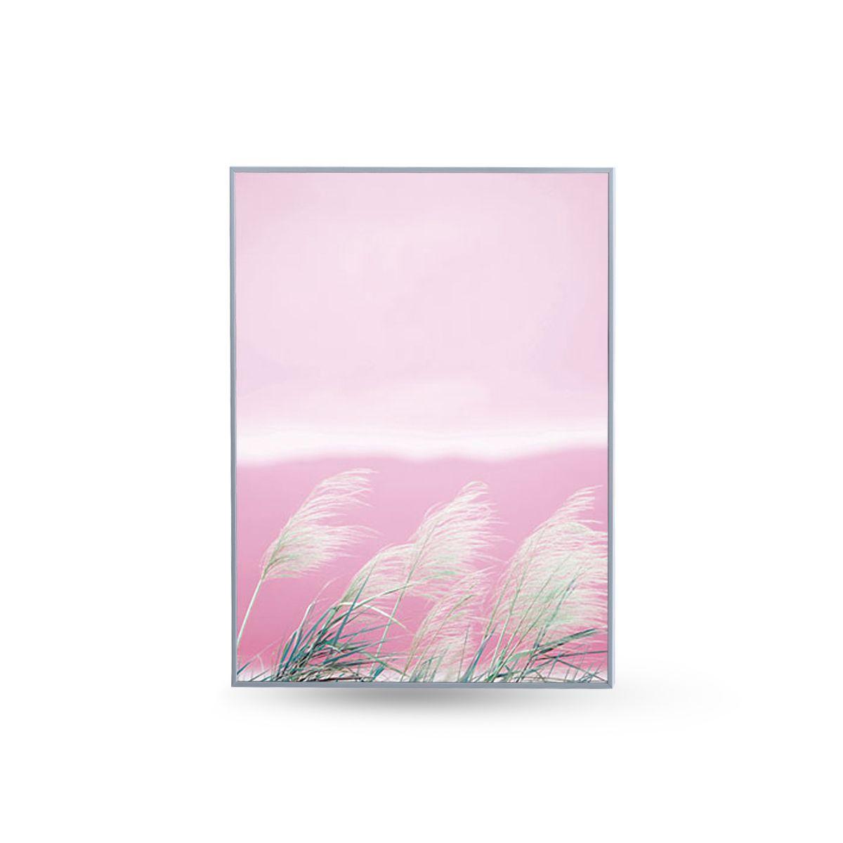 Quadro Decor Kit Coleção Paisagem Rosa