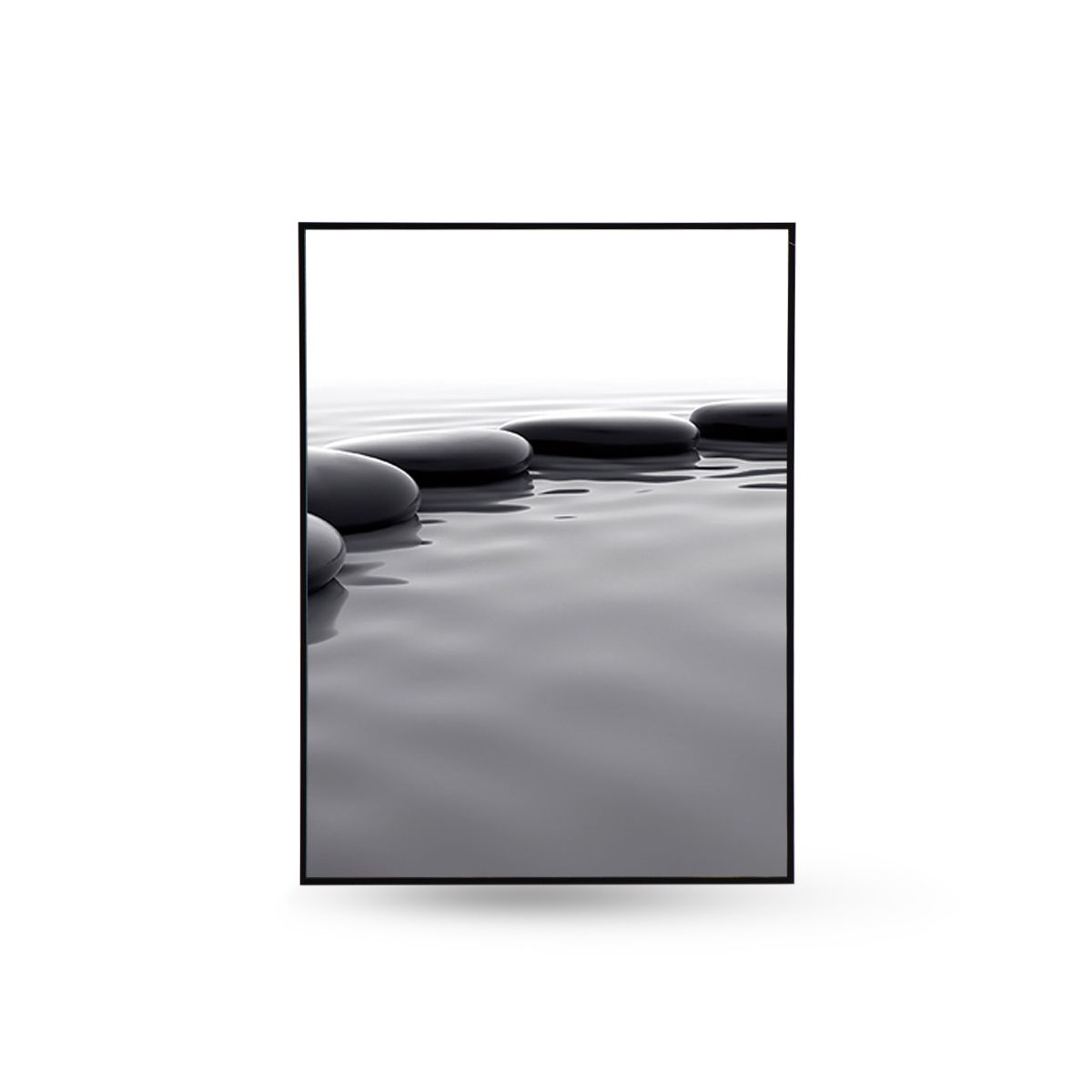 Quadro Decor Coleção Caminho Pedras No Lago A