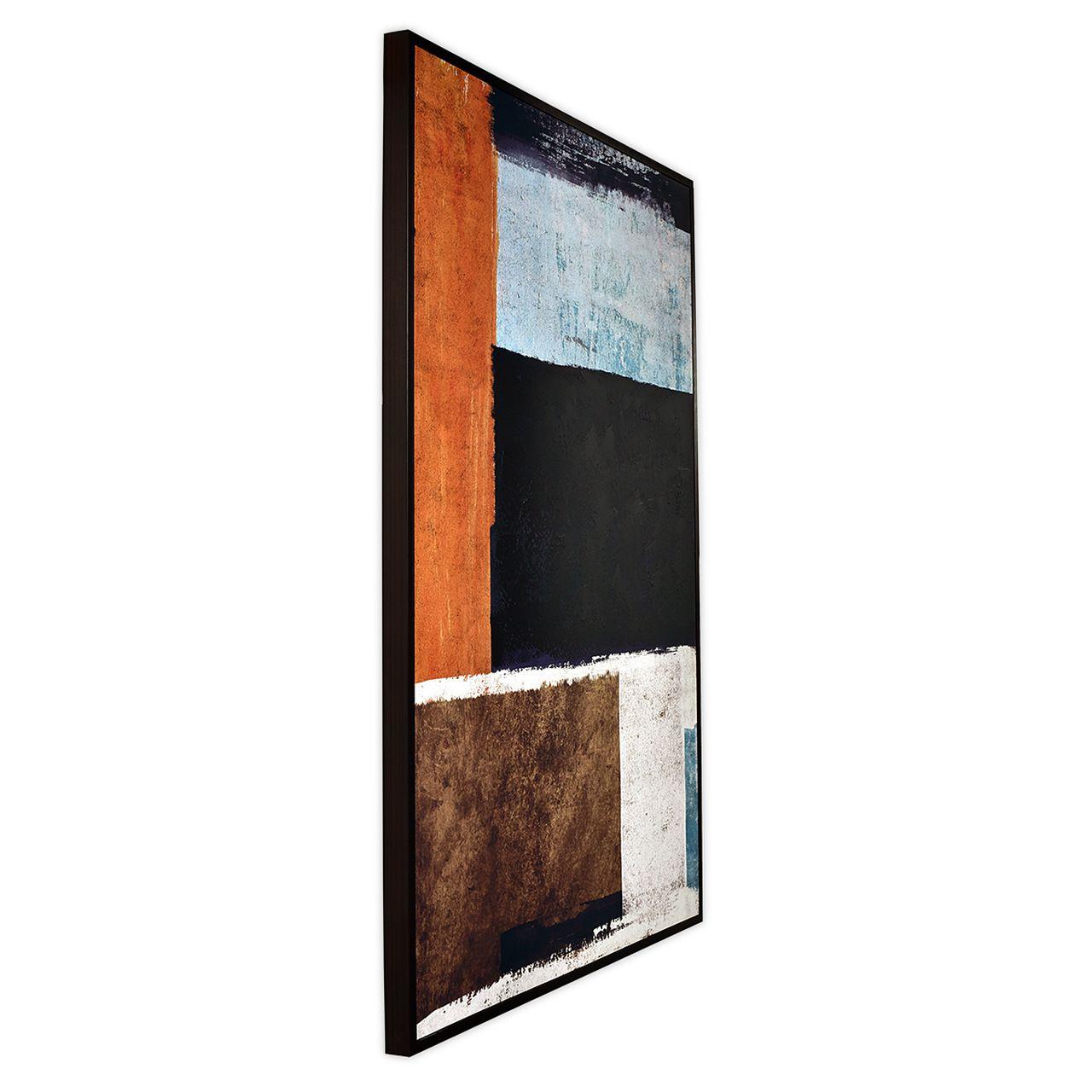 Quadro Decor Abstrato Esquadrilhado 1