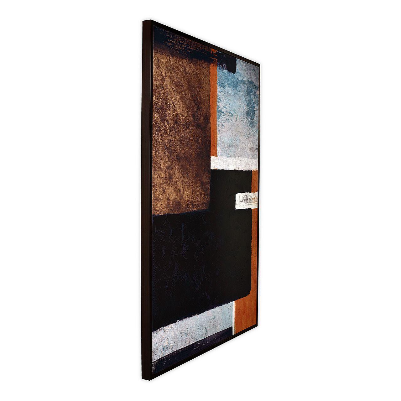 Quadro Decor Abstrato Esquadrilhado 2