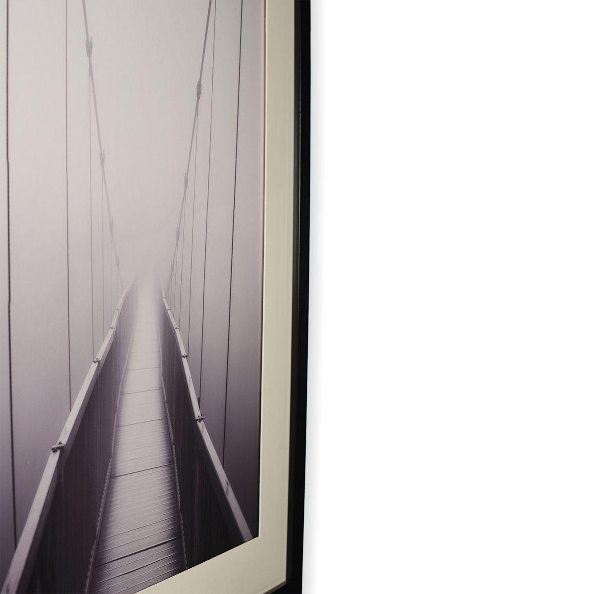 Quadro Decor A Ponte e a Névoa 2