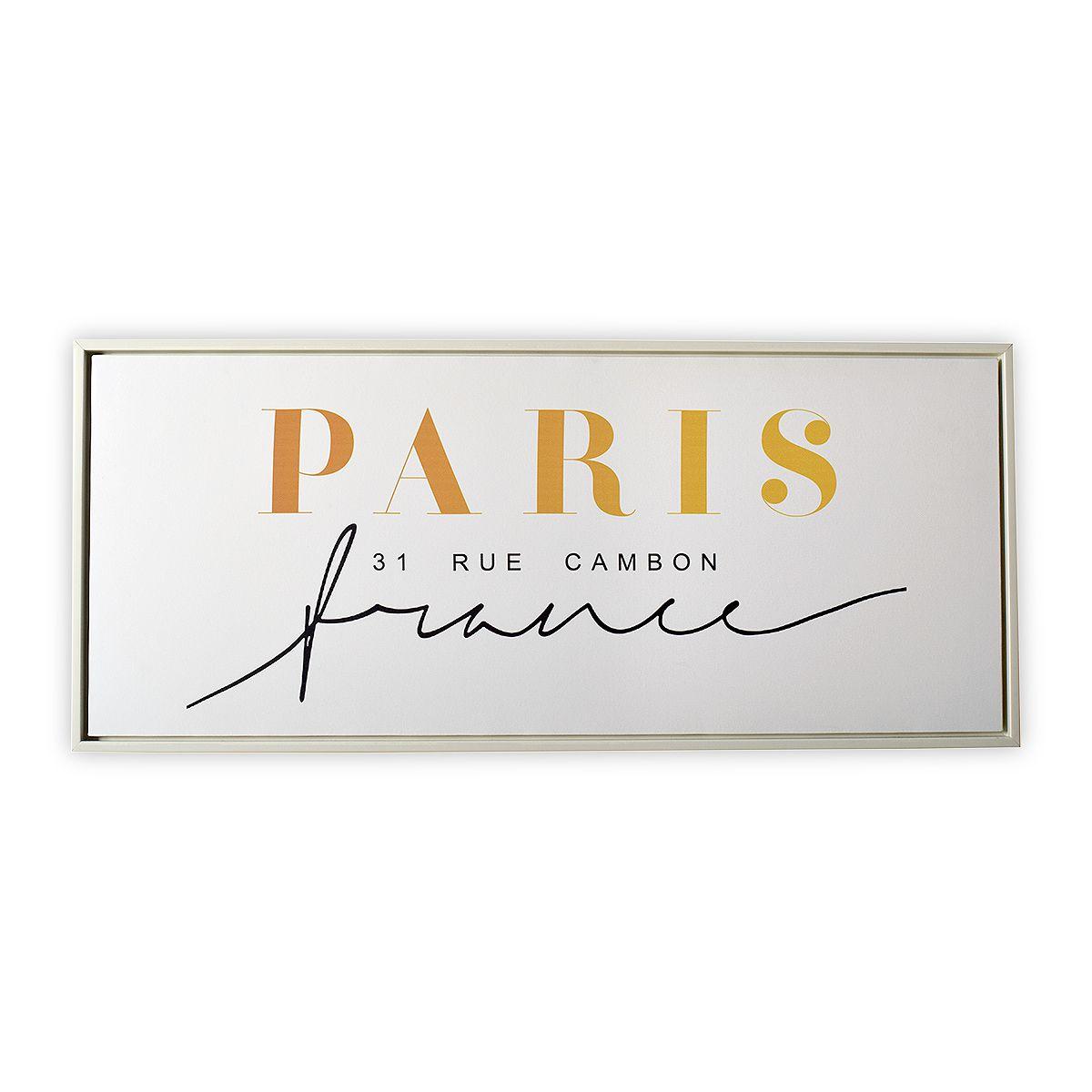 Kit Quadro Decor Coleção Paris