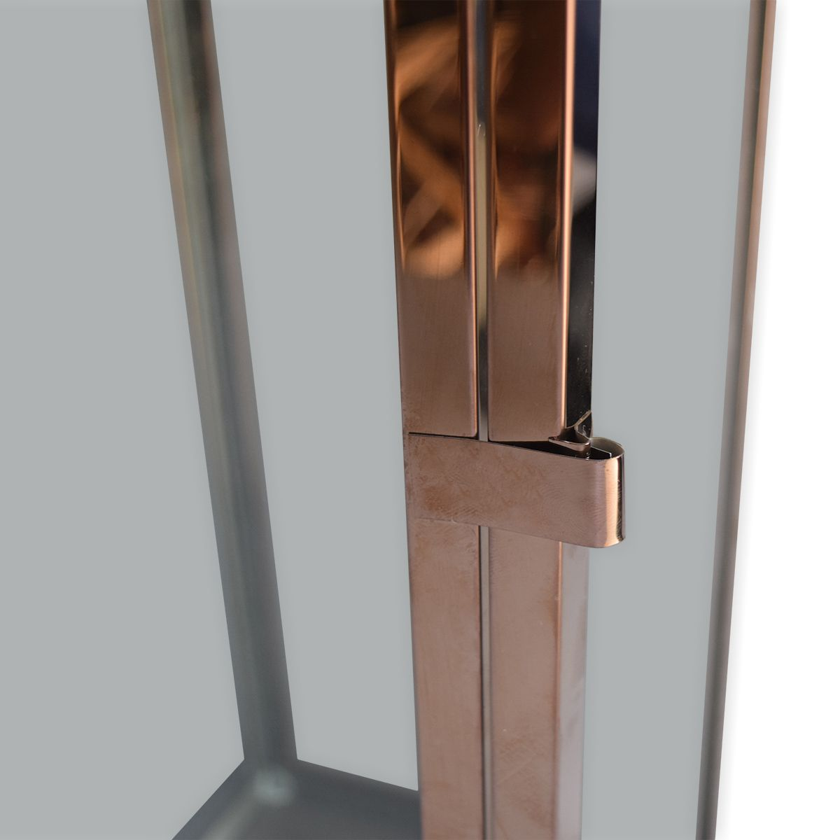 Lanterna Metal Golden Rose M by Akz Home
