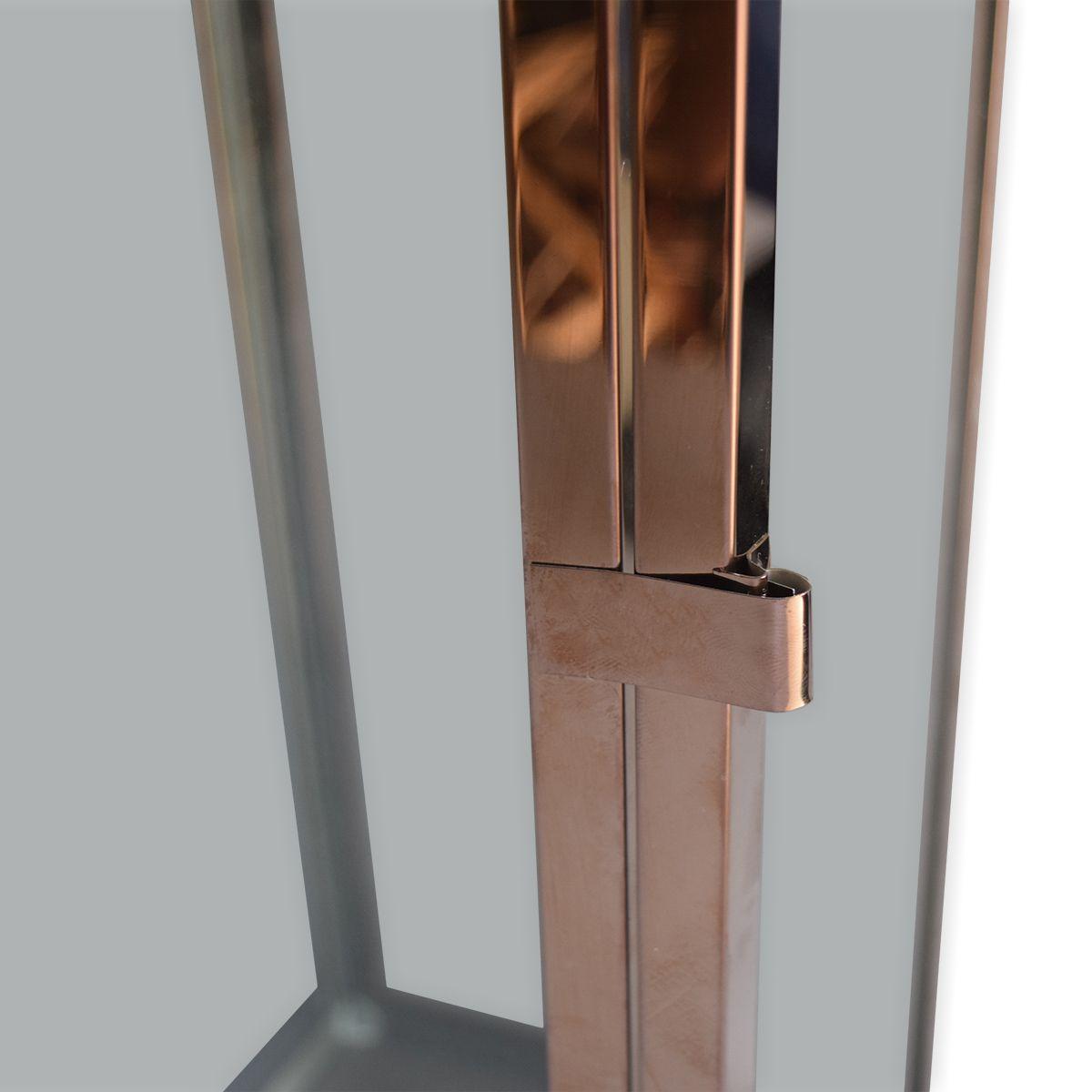 Lanterna Metal Golden Rose G by Akz Home