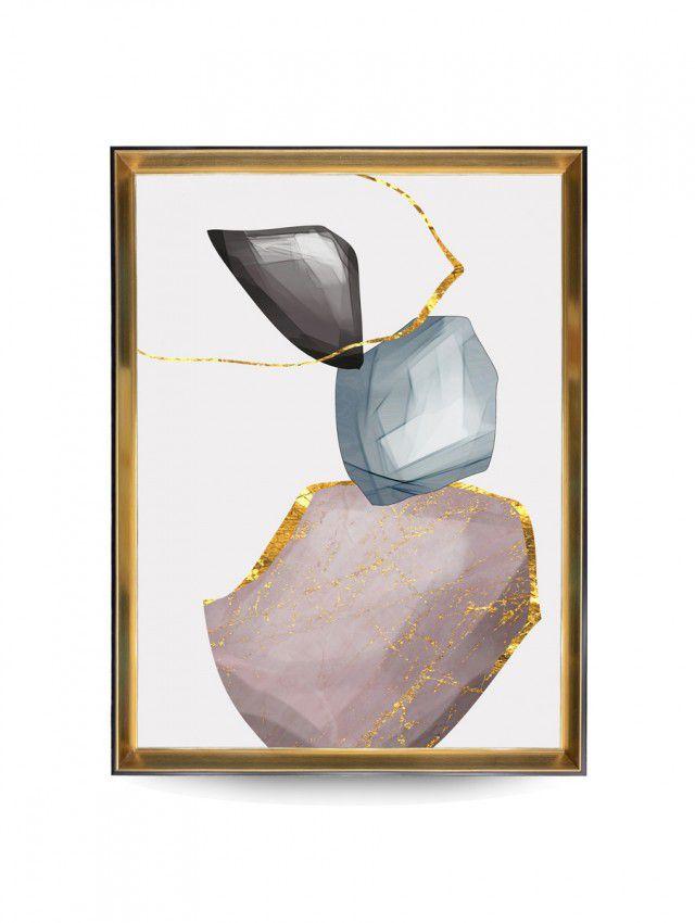 Quadro Decor Pespectiva Mineral 3