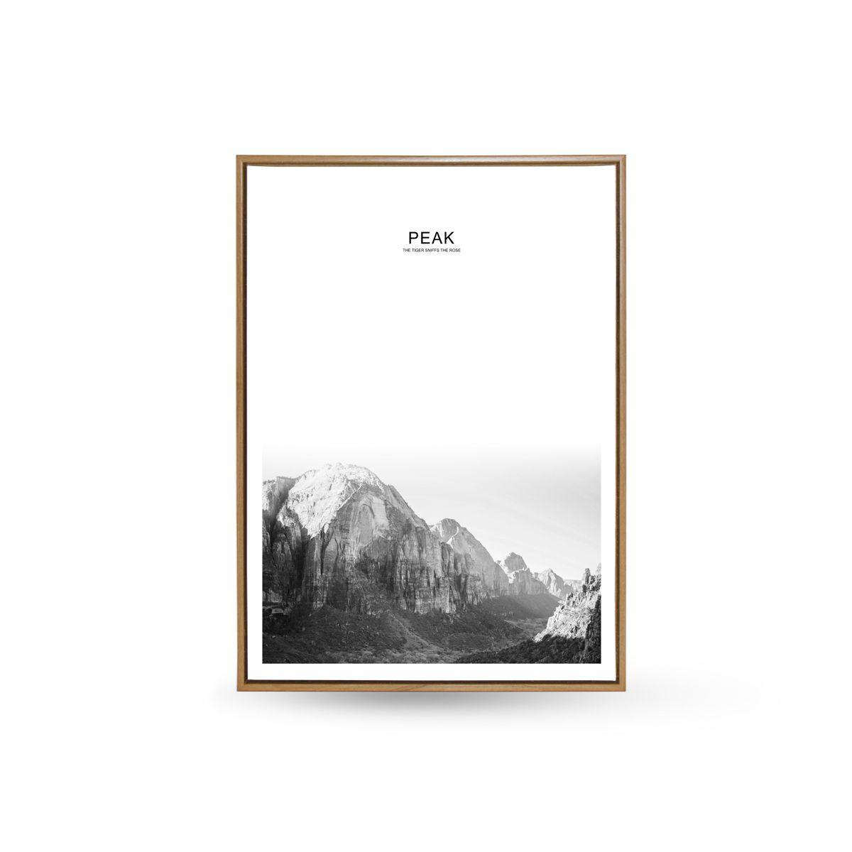Quadro Decor O Vale Montanhoso