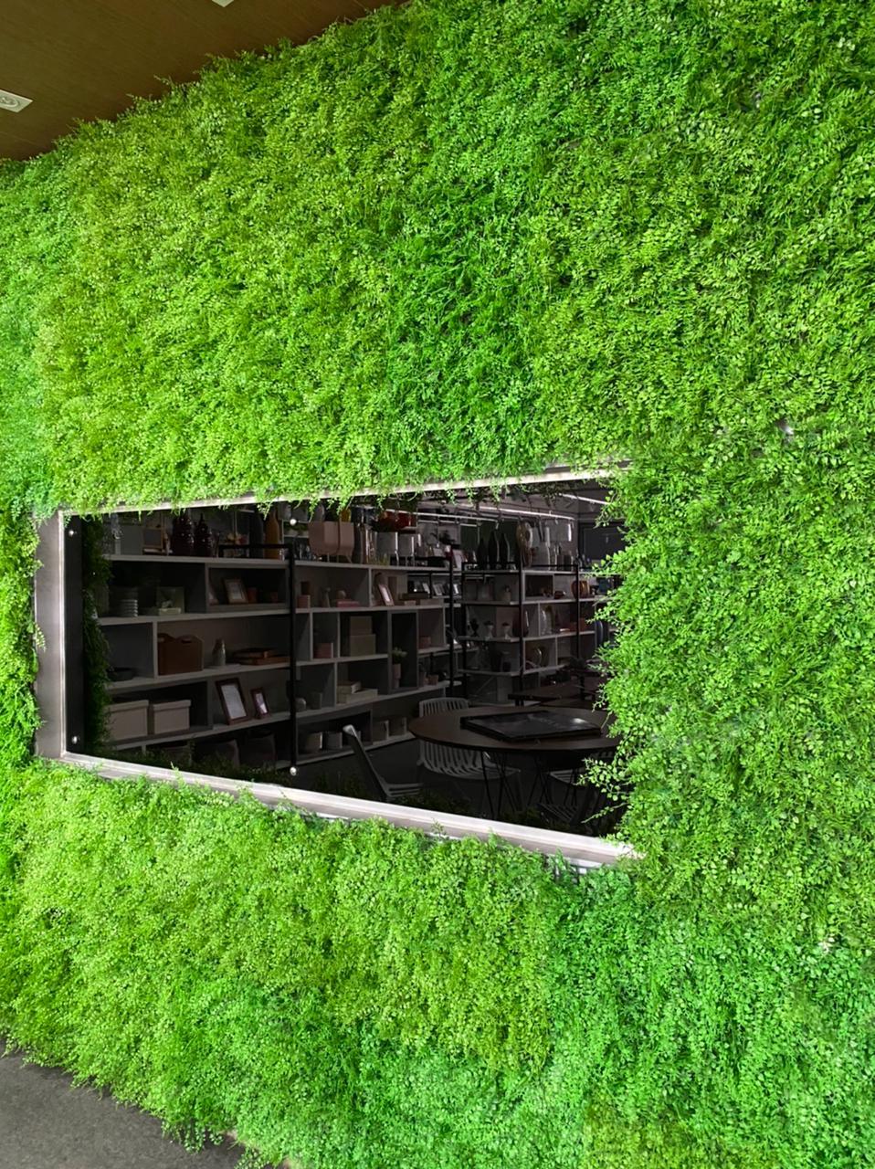Muro Samambaia Jardim Vertical Inglês 20 Placas