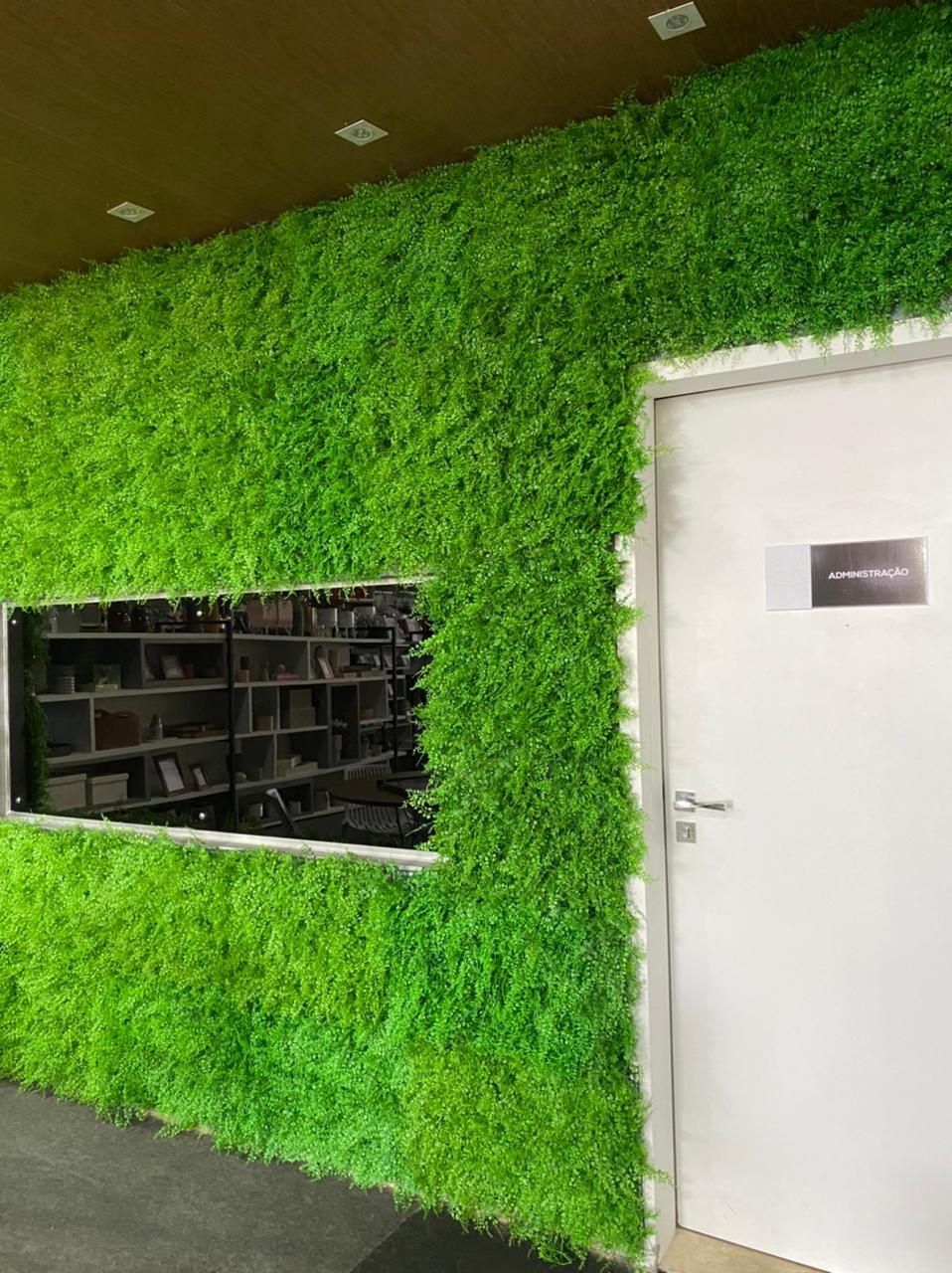 Muro Samambaia Jardim Vertical Inglês 24 Placas