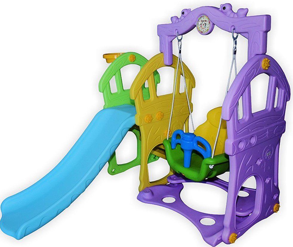 Playground Parquinho Infantil Escorregador e Balanço