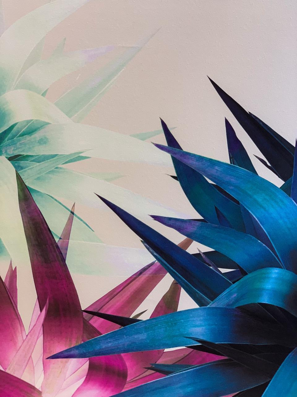 Quadro Coleção Plantas Abstratas Coloridas I