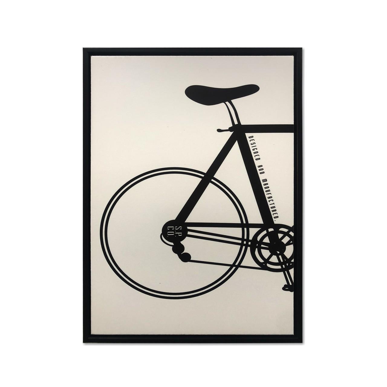 Quadro Decor A bicicleta Desconstruida 01