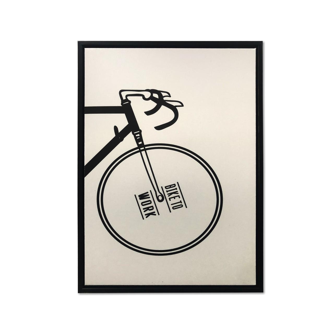 Quadro Decor A bicicleta Desconstruida 02