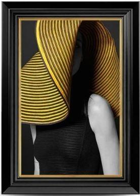Quadro Decor A Dama e o Chapéu 4