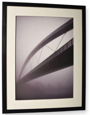 Quadro Decor A Ponte e a Névoa 1