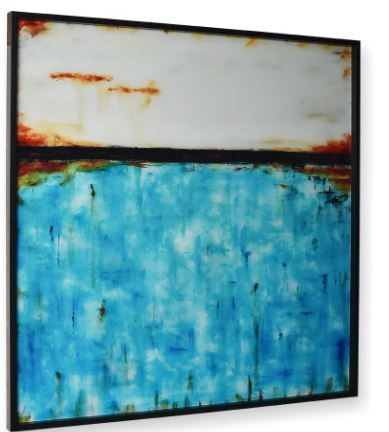 Quadro Decor Abstrato 2 Tons em Cores