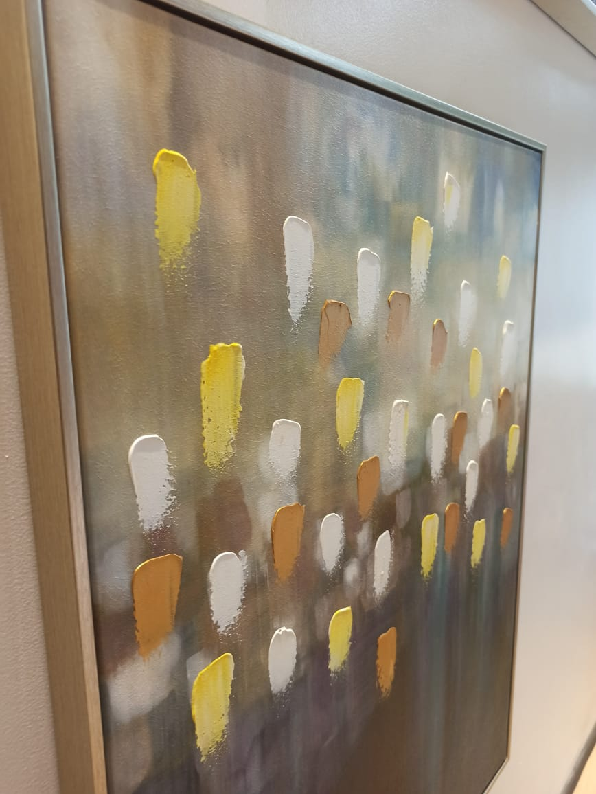 Quadro Decor Abstrato Luzes Ofuscadas