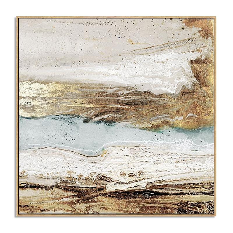 Quadro Decor Abstrato rochas sombreadas