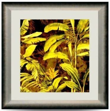 Quadro Decor Coleção Folhas Serrado 2
