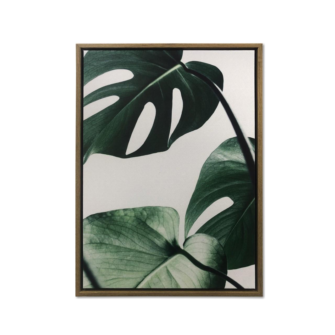Quadro Decor Coleção Folhas Vibrantes 01