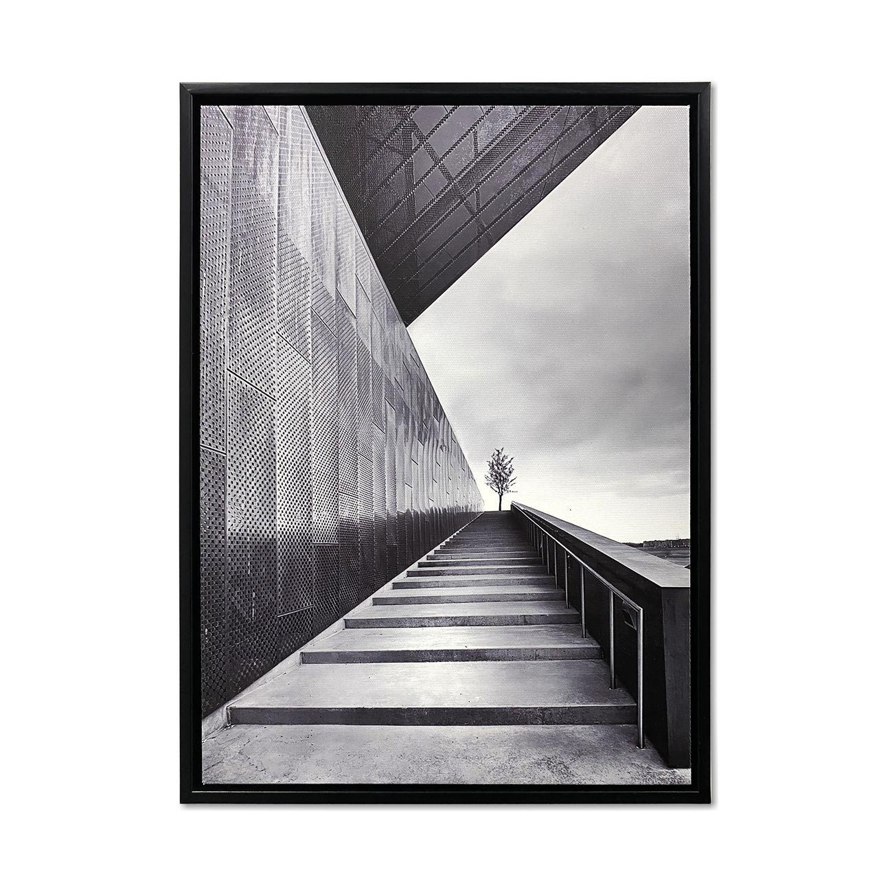 Quadro Decor Coleção Perspectiva em Linhas  Construtivas 02