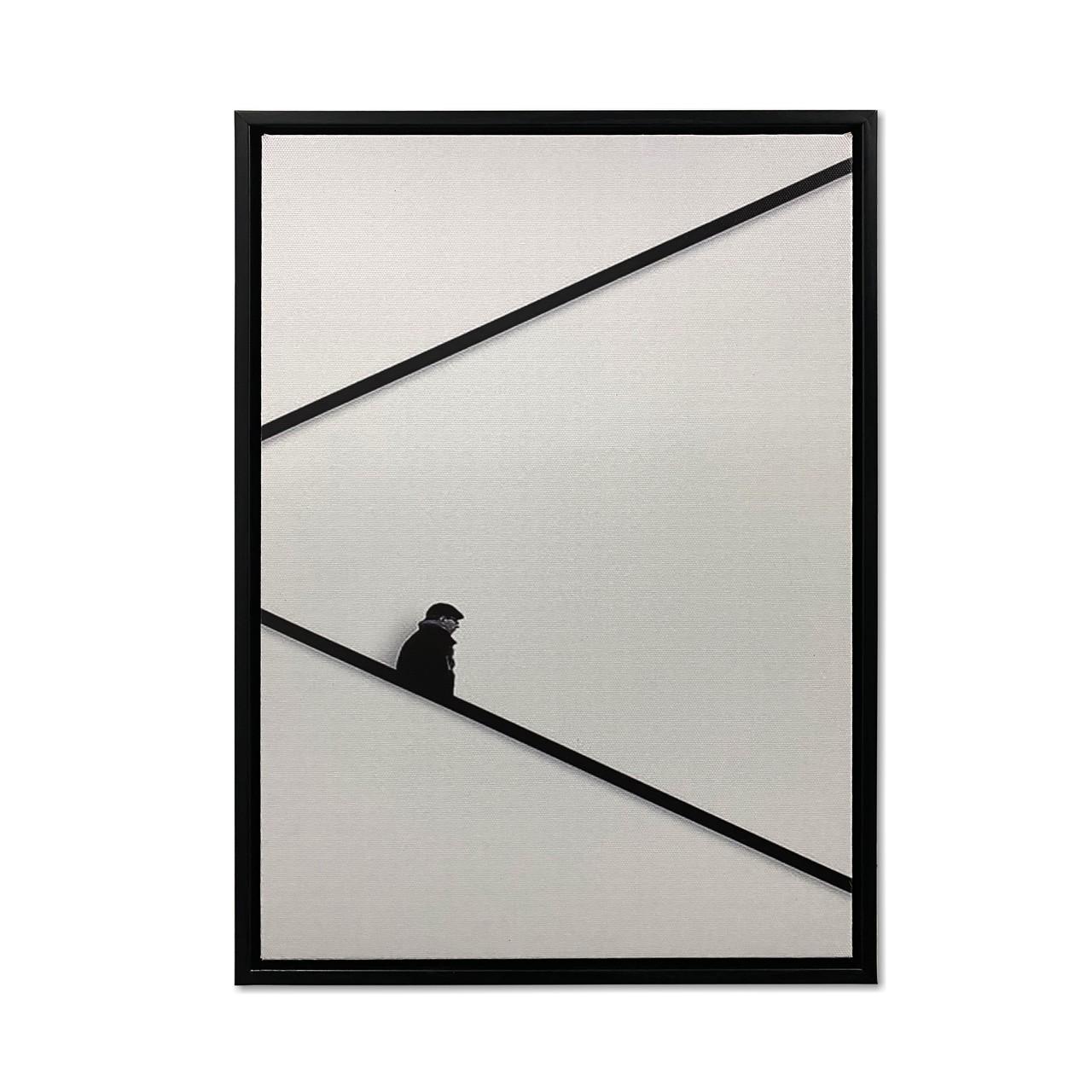 Quadro Decor Coleção Perspectiva em Linhas  Construtivas 03