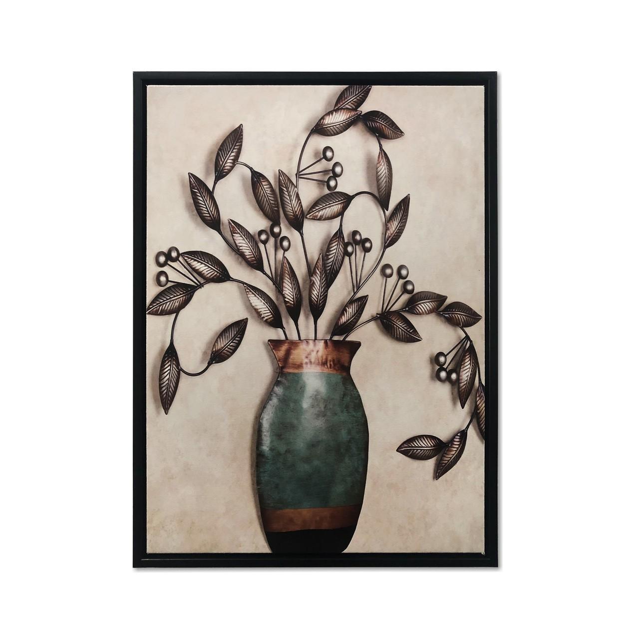 Quadro Decor Coleção Vasos Decorativos 01