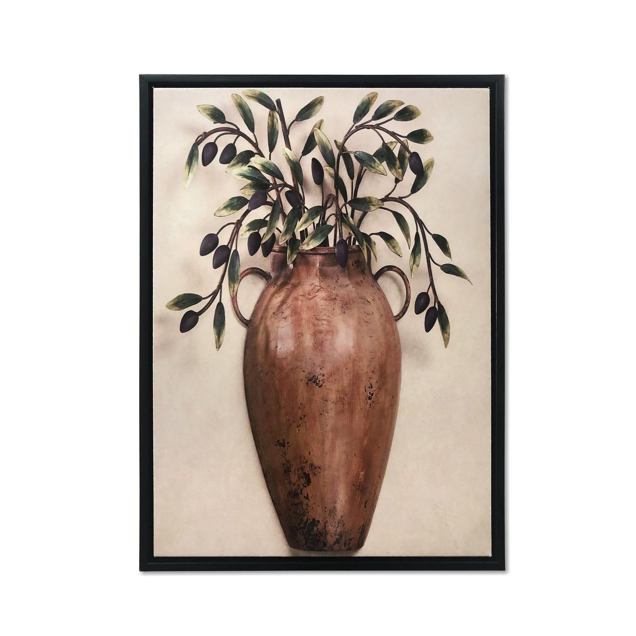 Quadro Decor Coleção Vasos Decorativos 02