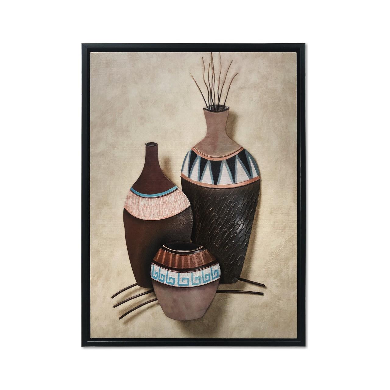 Quadro Decor Coleção Vasos Decorativos 03
