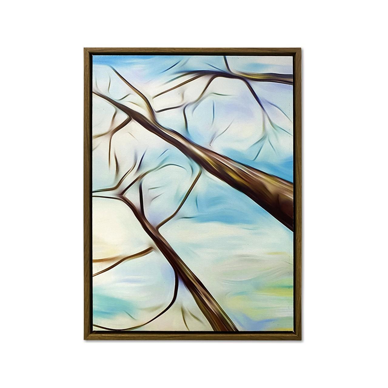 Quadro Decor Coleção Vista das Árvores 03