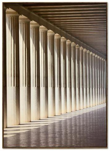 Quadro Decor Colunas contra Luz