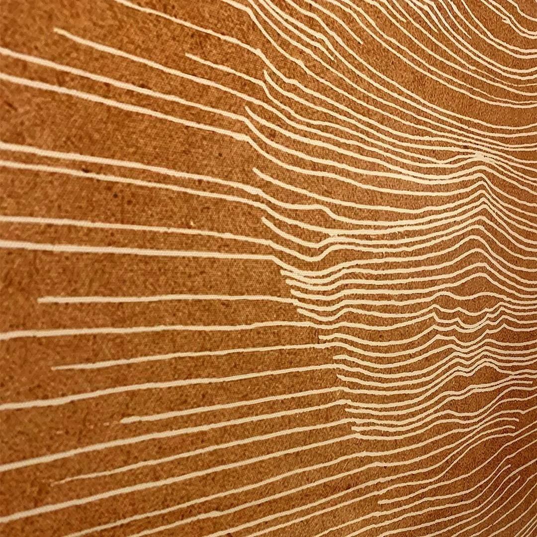 Quadro Decor Disco Man Coral