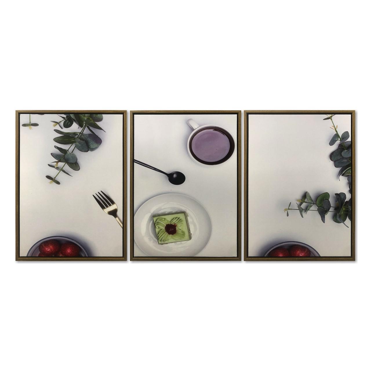 Quadro Decor Kit Coleção Detalhes de Cozinha