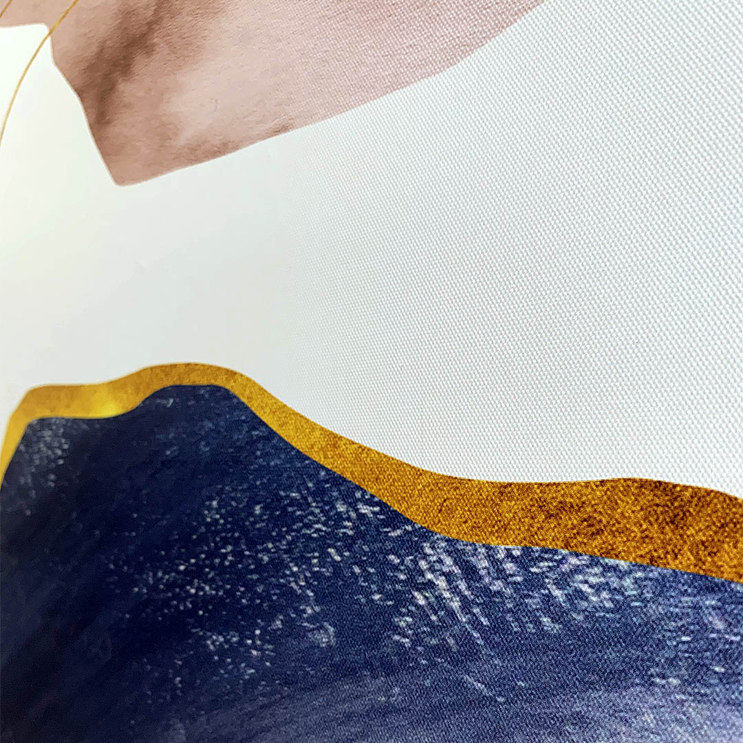 Quadro Decor Mineral Rosê Blue 3