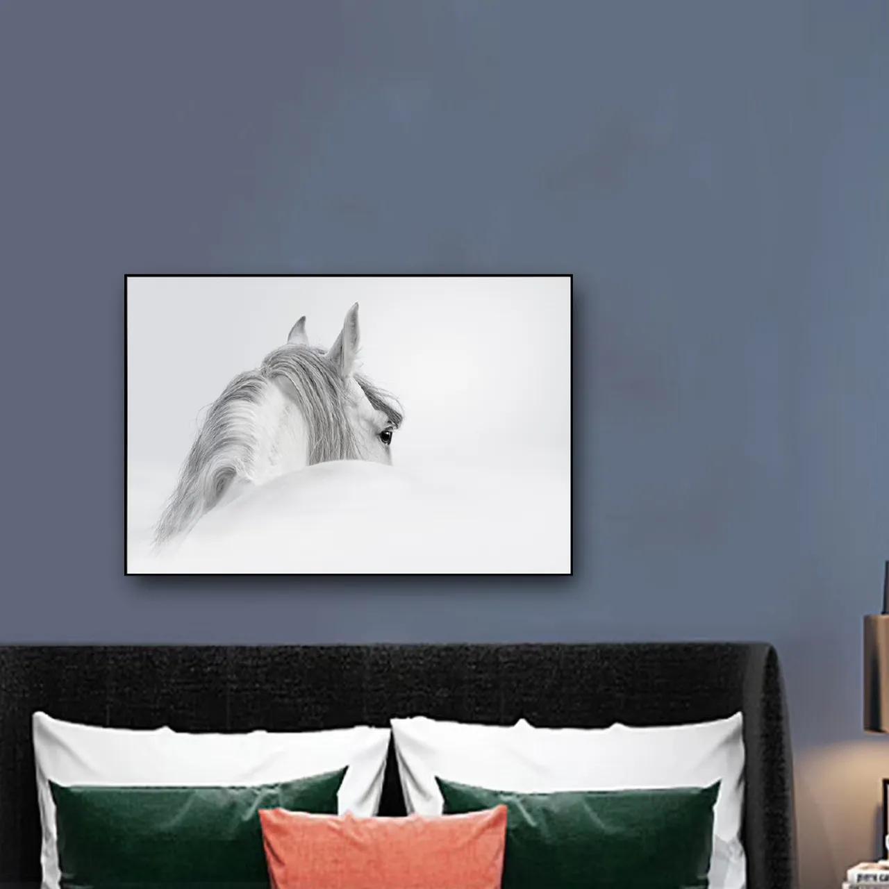 Quadro Decor O Cavalo Branco