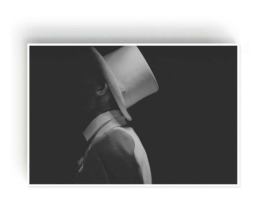 Quadro Decor O homem e o Chapéu