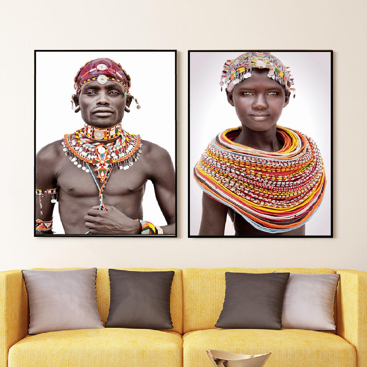 Quadro Decor Persona Angolana 2