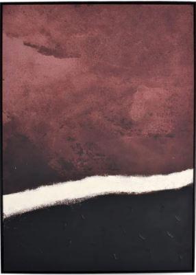 Quadro Decor Pinceladas em Marrom