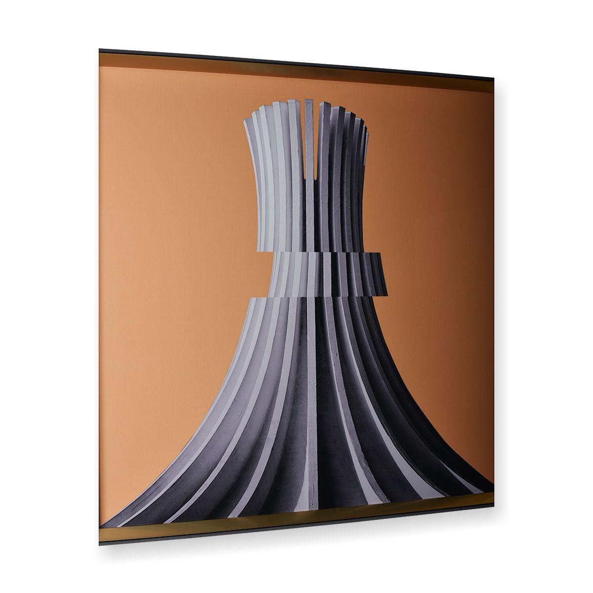 Quadro Decor A Torre Cinza
