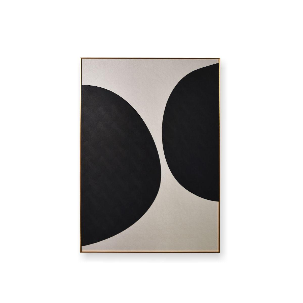 Quadro Decor Coleção Abstrato Circular 1