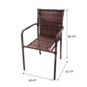 CR05.C - Cadeira em Alumínio e Fibra Sintética 10mm