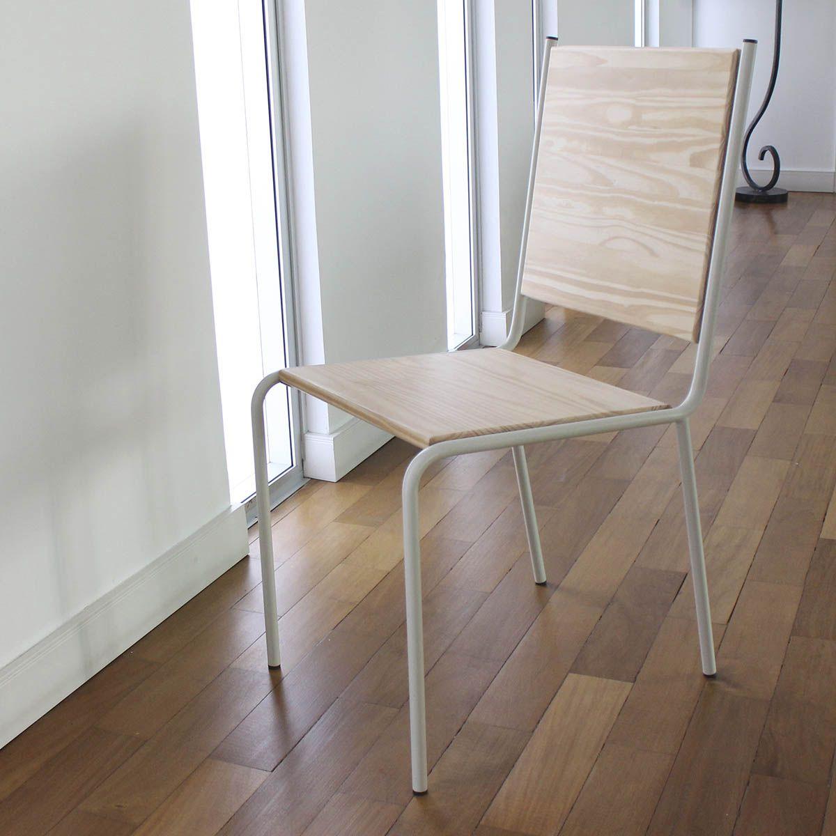 Kit 02 Cadeiras com revestimento em Pinus CP44