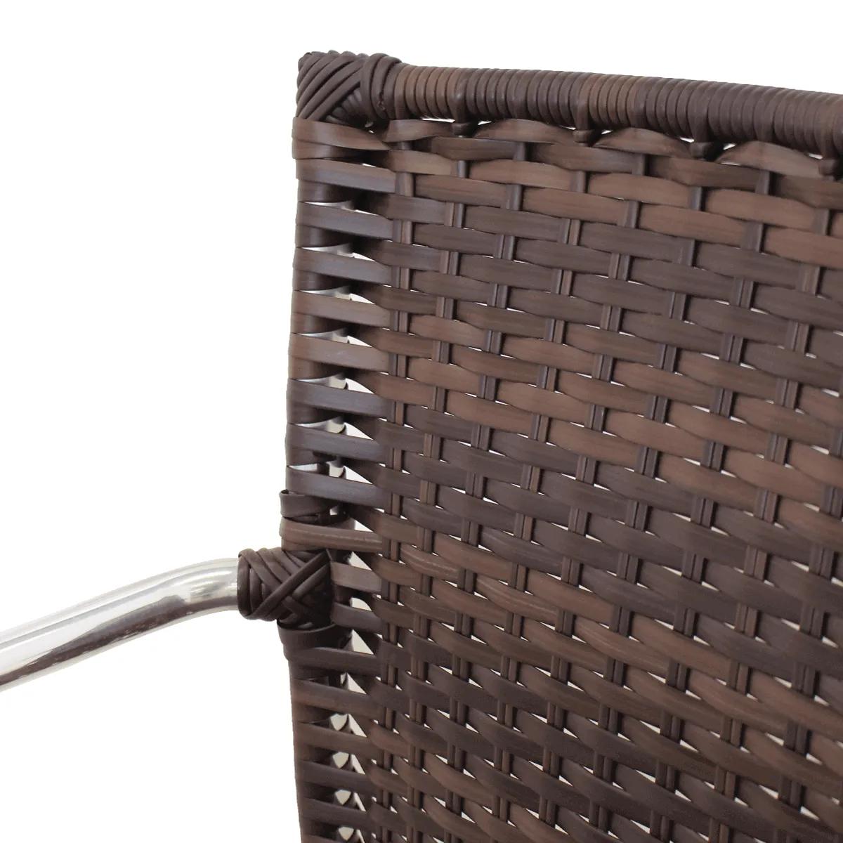 Cadeira em Alumínio e Fibra Sintética   CR03 (Kit com 02 Unidades)
